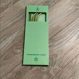 Jeffree Star Green Straws